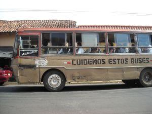 zumindest steht es drauf:Lasst uns diese Busse hegen und pflegen