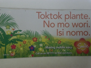 Talk-Talk in Vanuatu
