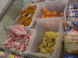 Schüttgut im Supermarkt