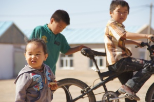 heutige und künftige Mitglieder der Biker-Gang