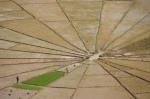 Spinnennetz-Reisterrasse m Detailn