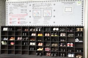 mit kalten Füßen durchs Museum