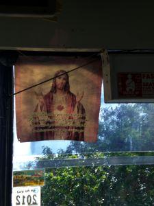 Jesus fährt mit