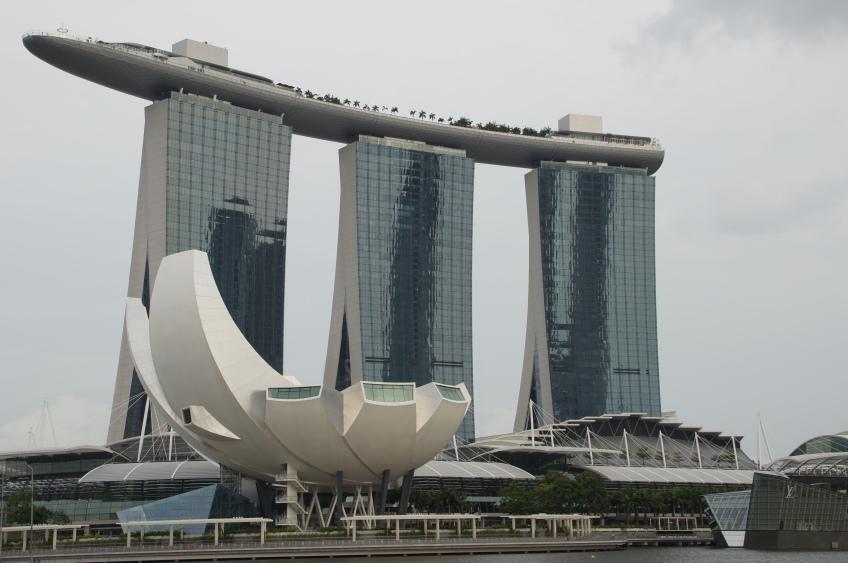 blitzblankes Singapur