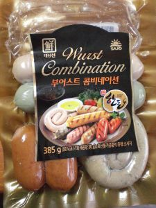 Wurst in Korea