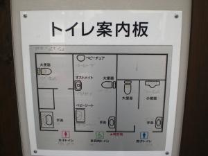 Blindes Pinkeln in japanischen Toiletten