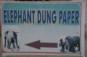 Elefantendungpapier
