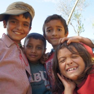 Kinder bei Nagarkot