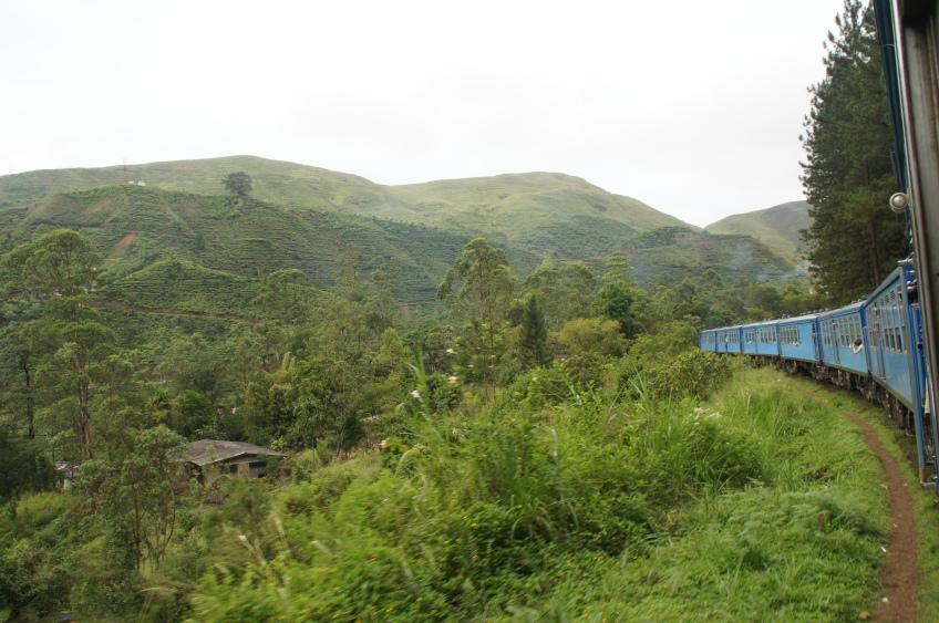 Zugfahrt nach Haputale