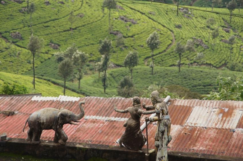 Tempeldach in Haputale