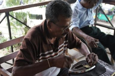 Kunsthandwerk in Kandy