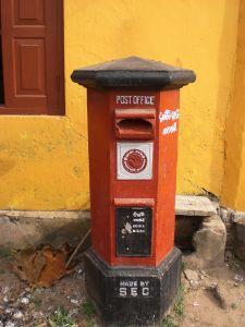 Postamt in Mirissa