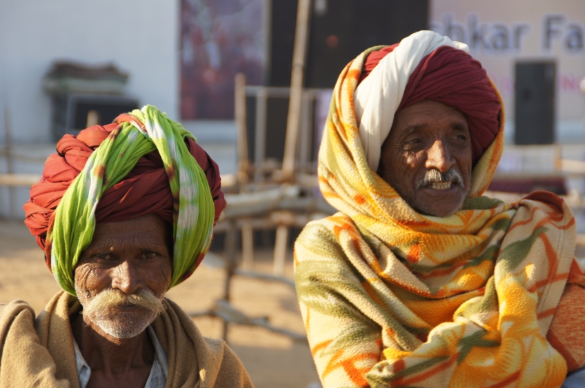 Kamelbesitzer in Pushkar
