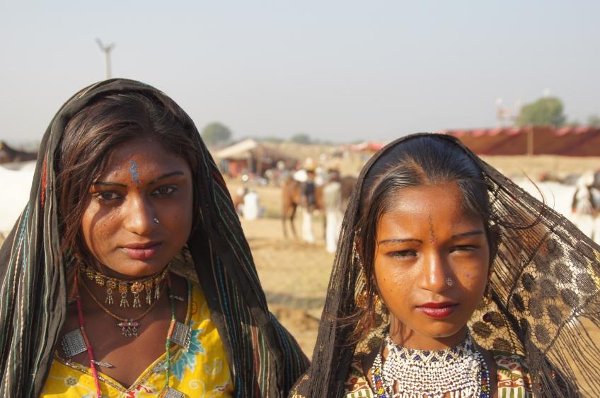 Mädchen der Wüste
