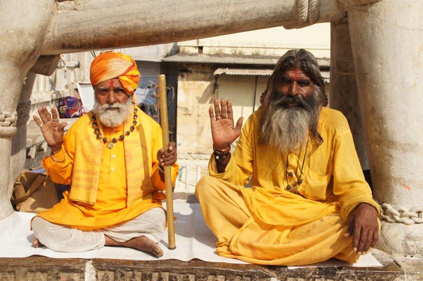 Sadus in Udaipur