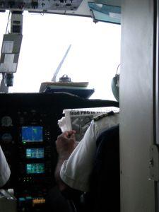 zeitunglesender Pilot