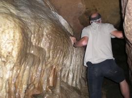 Höhlenforscher in den Clifden Caves