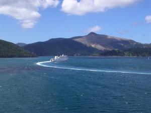 Hafeneinfahrt von Picton