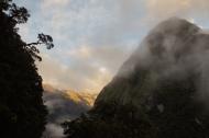 Sonnenaufgang Milford Sound