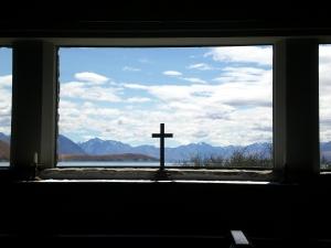 Kirche mit Ausblick