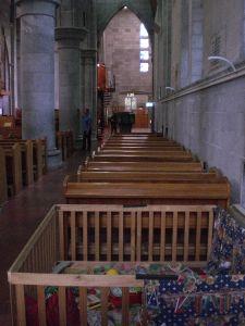 Krabbelkiste in Nelson Kirche